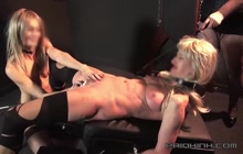 Insane female orgasms for a horny slave