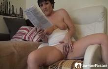 Amazing girl shows how she masturbates passionately